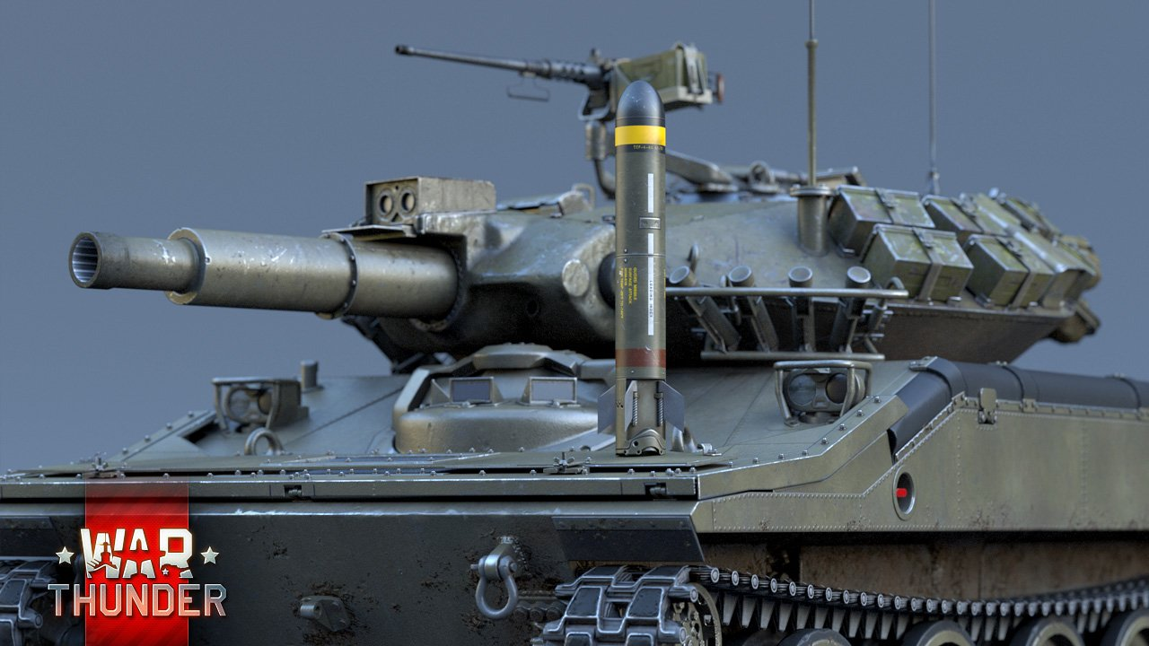 M551-War Thunder