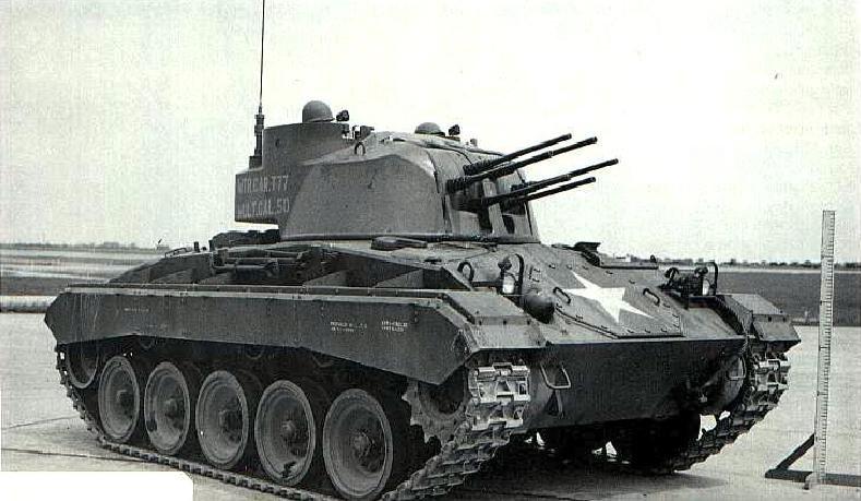 Multiple 50.caliber Gun Motor Carriage T77
