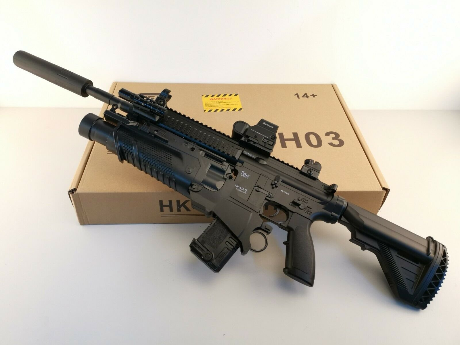HK416D.. Birthday present from brother